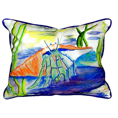 Coastal Hermit Indoor/Outdoor Lumbar Pillow