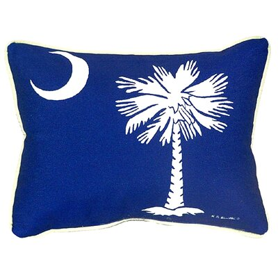 Palmetto Moon Indoor/Outdoor Lumbar Pillow Size: Large