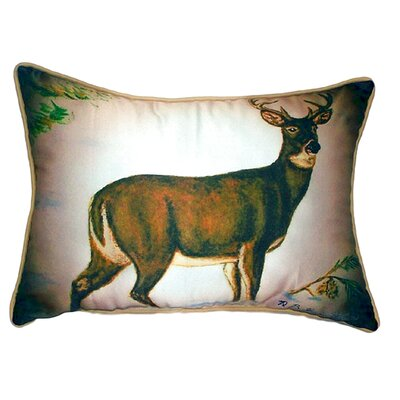 Buck Indoor/Outdoor Lumbar Pillow