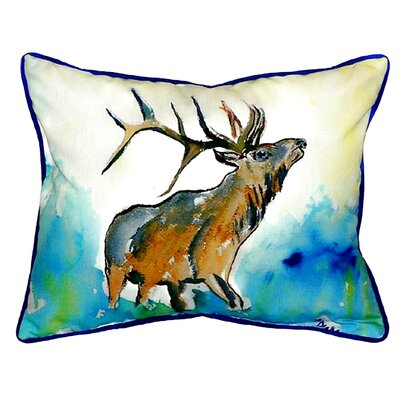 Elk Indoor/Outdoor Lumbar Pillow