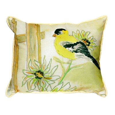 Goldfinch Indoor/Outdoor Lumbar Pillow