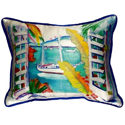 Bay View Indoor/Outdoor Lumbar Pillow Size: Large