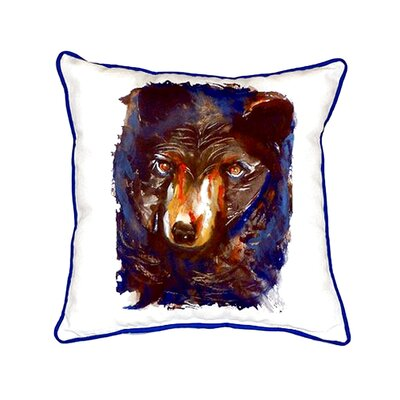Bear Indoor/Outdoor Throw Pillow
