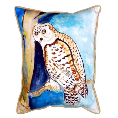 Owl Indoor/Outdoor Lumbar Pillow
