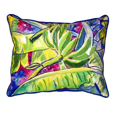 Bananas Indoor/Outdoor Lumbar Pillow