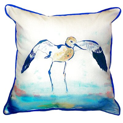 Avocet Indoor/Outdoor Throw Pillow Size: Large