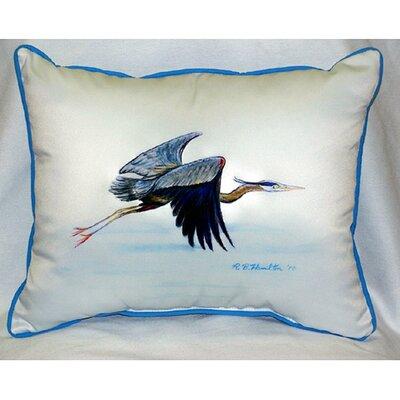 Heron Indoor/Outdoor Lumbar Pillow