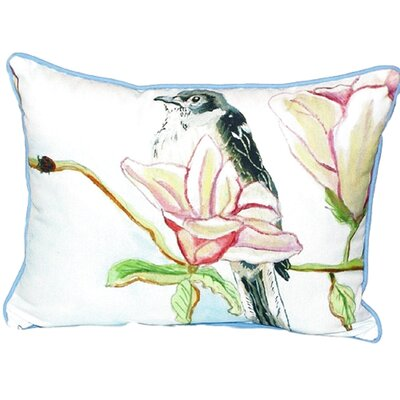 Mockingbird Indoor/Outdoor Lumbar Pillow Size: Large