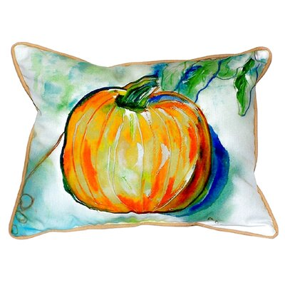 Pumpkin Indoor/Outdoor Lumbar Pillow Size: Small