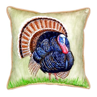 Wild Turkey Indoor/Outdoor Throw Pillow
