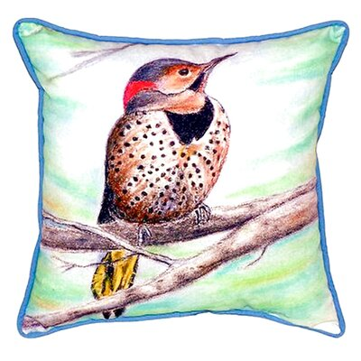 Flicker Indoor/Outdoor Throw Pillow Size: Large