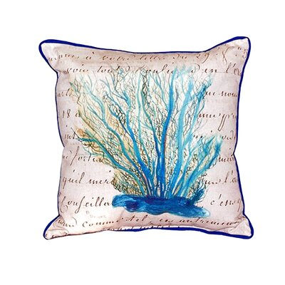 Coral Beige Indoor/Outdoor Throw Pillow