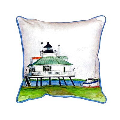 Hopper Strait Lighthouse Indoor/Outdoor Lumbar Pillow