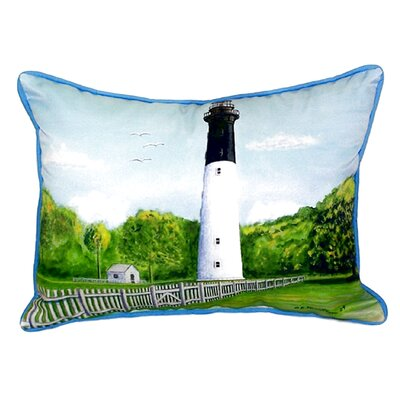 Hunting Island Indoor/Outdoor Throw Pillow Size: Small