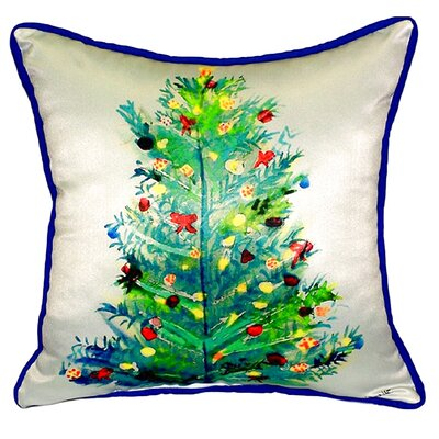 Christmas Tree Indoor/Outdoor Throw Pillow
