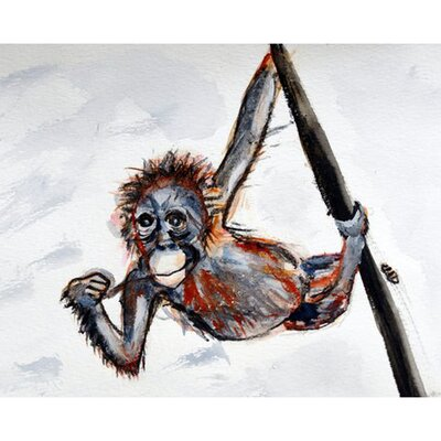 Monkey Garden Flag Size: Small FL436