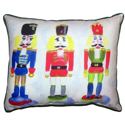 Nut Crackers Throw Pillow