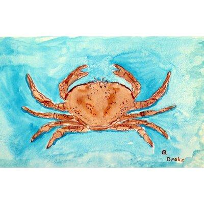 Crab Garden Flag Size: Small FL355