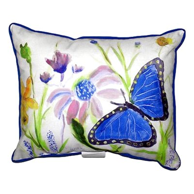 Morpho Outdoor Lumbar Pillow Size: Large