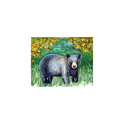 Bear Doormat Mat Size: Rectangle 26 x 42