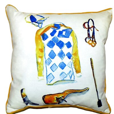 Racing Gear Outdoor Throw Pillow Size: Large