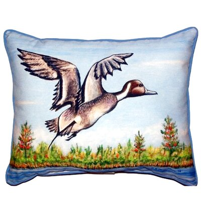 Pintail Duck Indoor/Outdoor Lumbar Pillow Size: Small