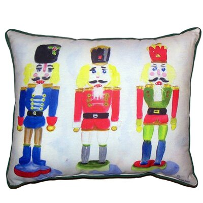 Nut Crackers Indoor/Outdoor Lumbar Pillow Size: Large