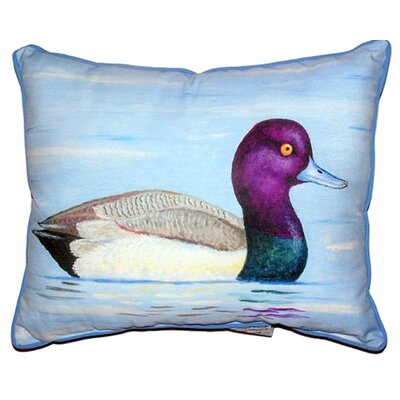 Lesser Scaup Indoor/Outdoor Lumbar Pillow Size: Large