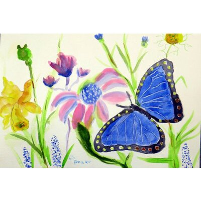 Morpho Doormat Rug Size: Rectangle 26 x 42