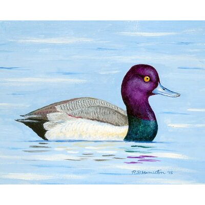 Lesser Scaup Doormat Rug Size: Rectangle 16 x 22