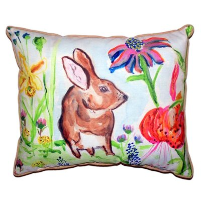 New Rabbit Outdoor Lumbar Pillow Size: Large