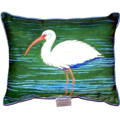 Ibis Outdoor Lumbar Pillow Size: Large