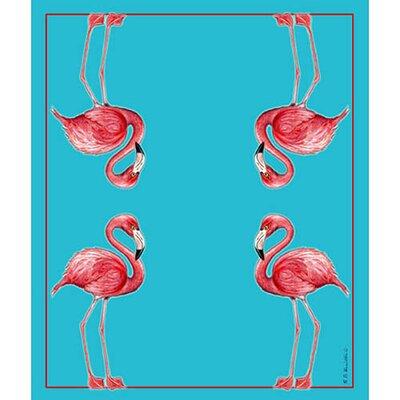 Flamingo Throw