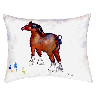 Clydesdale Indoor/Outdoor Lumbar Pillow