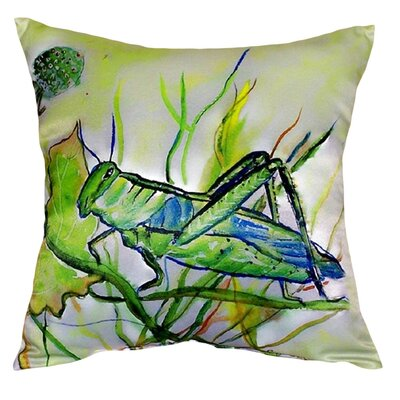 Grasshopper Indoor/Outdoor Throw Pillow