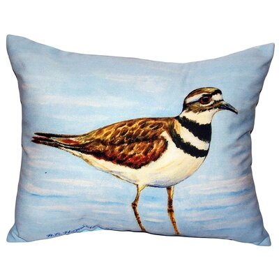 Killdeer Indoor/Outdoor Lumbar Pillow Size: Small