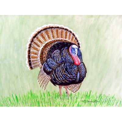 Wild Turkey Doormat Mat Size: Rectangle 26 x 42