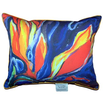 Paradise Indoor/Outdoor Lumbar Pillow Size: Large