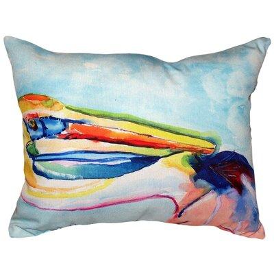 Pelican Head Indoor/Outdoor Lumbar Pillow