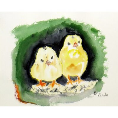Chicks Doormat Rug Size: Rectangle 16 x 22