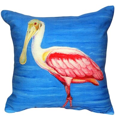 Dicks Spoonbill Indoor/Outdoor Throw Pillow