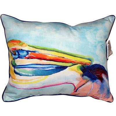 Pelican Head Indoor/Outdoor Lumbar Pillow Size: Extra Large
