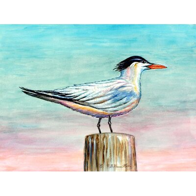 Royal Tern Doormat Rug Size: 26 x 42