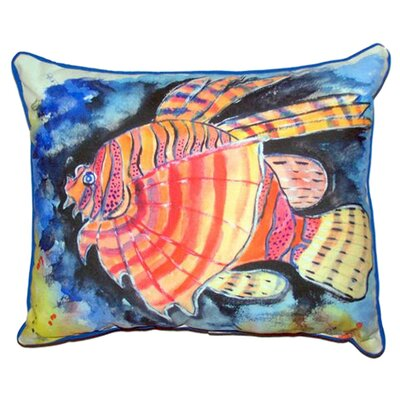 Lion Fish Indoor/Outdoor Lumbar Pillow Size: Large