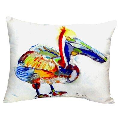 Heathcliff Pelican Indoor/Outdoor Lumbar Pillow