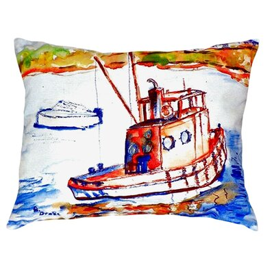 Rusty Boat Indoor/Outdoor Lumbar Pillow