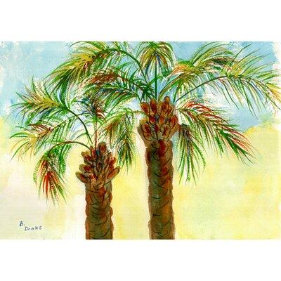 Coastal Palms Doormat Size: 18 H x 26 W