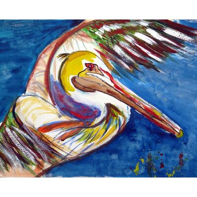 Pelican Wing Doormat Mat Size: Rectangle 16 x 22