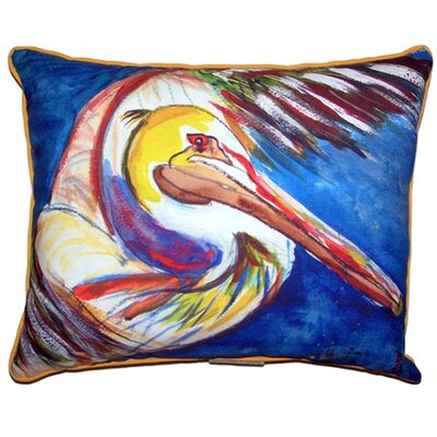 Pelican Wing Indoor/Outdoor Lumbar Pillow Size: Extra Large