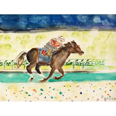 Derby Winner Doormat Mat Size: 26 x 42